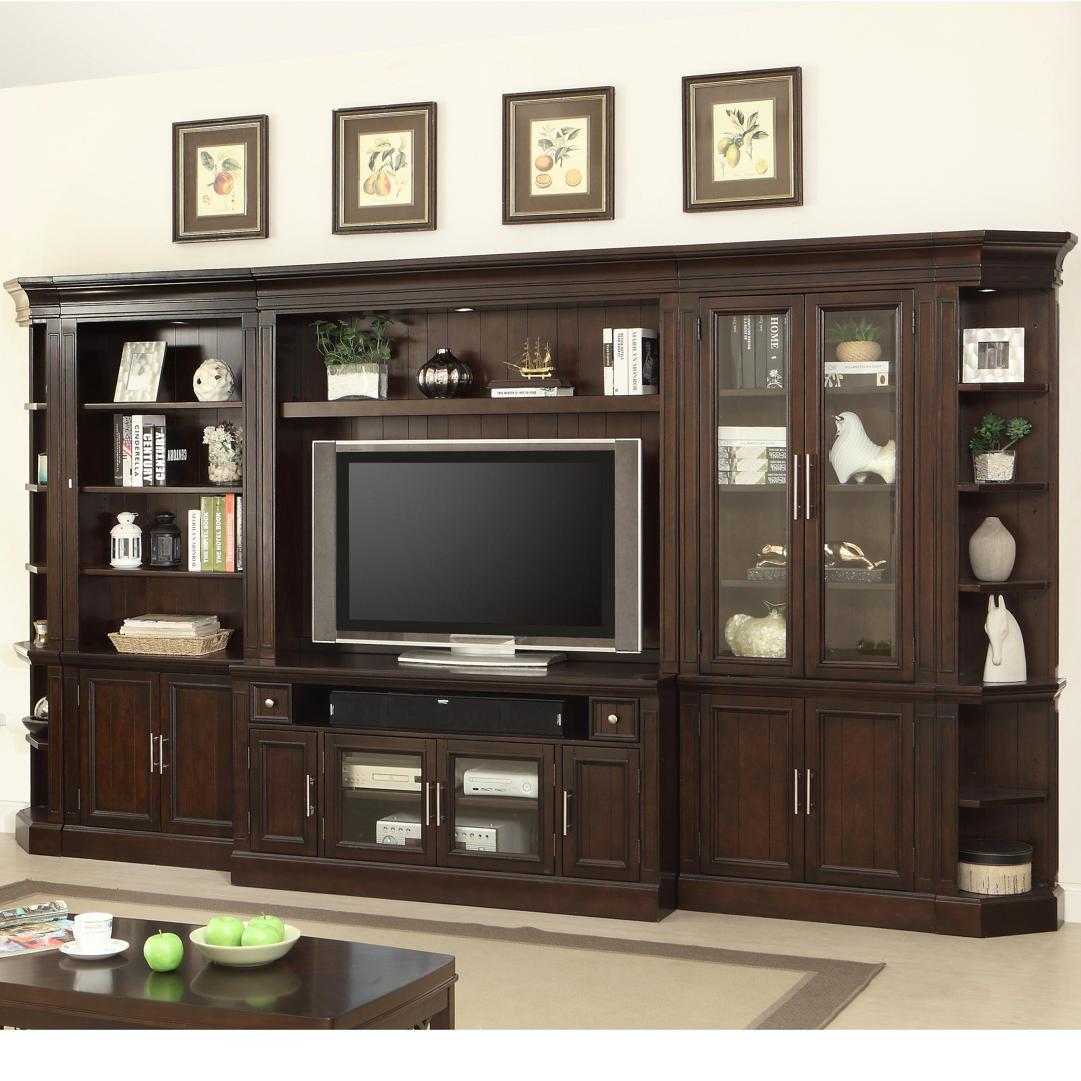 Stanford Wall Unit by Parker House at Suburban Furniture