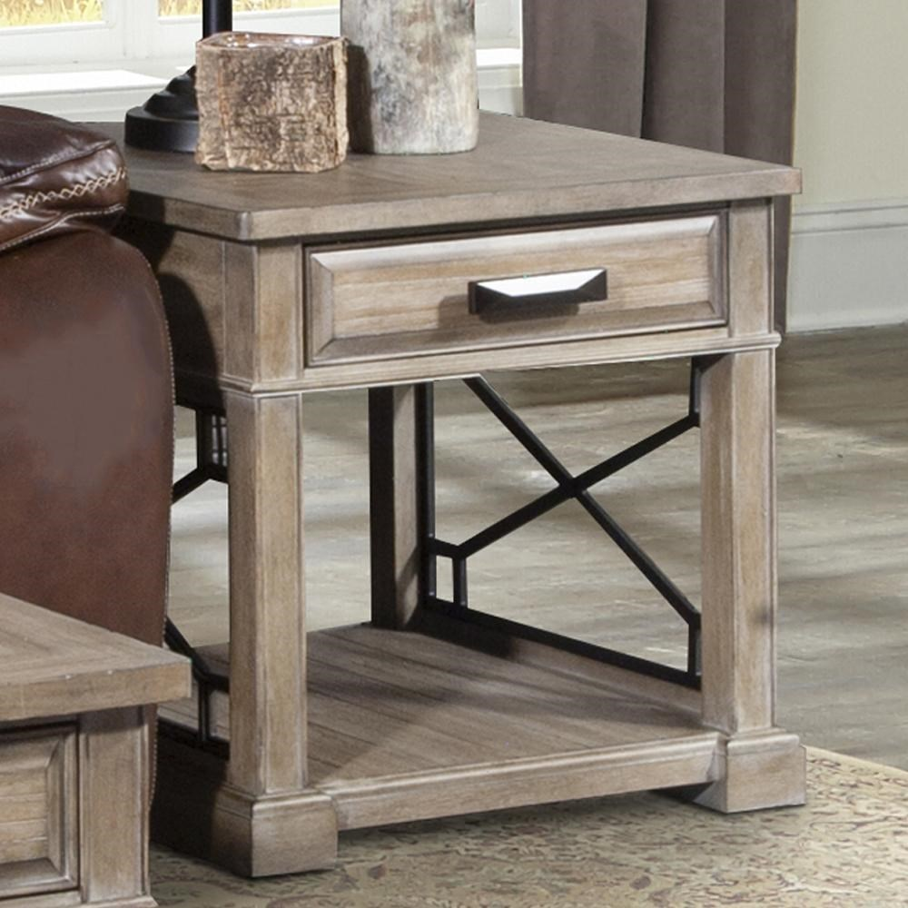 Sundance End Table by Parker House at Darvin Furniture
