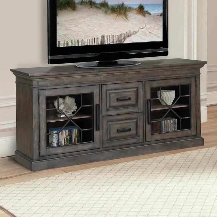 """Sablet Sablet 76"""" TV Console by Parker House at Morris Home"""