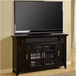 "62"" (40""H) TV Console with 4 Doors"