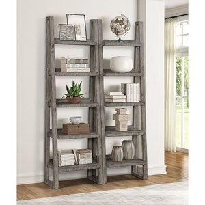 Pair of Etagere Bookcases