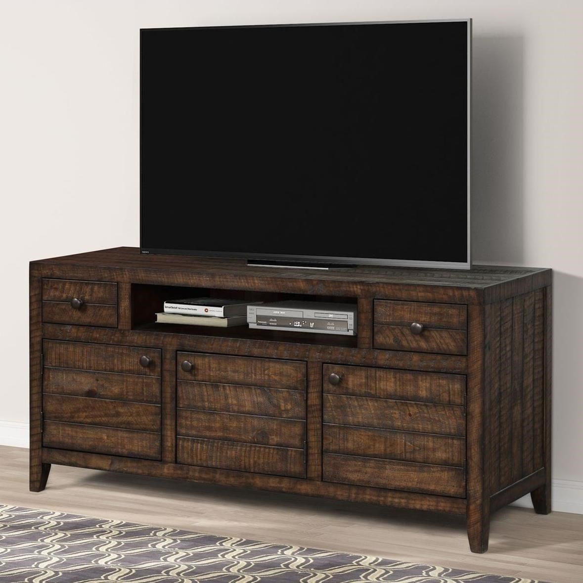 """Tempe 63"""" TV Console by Parker House at Zak's Home"""