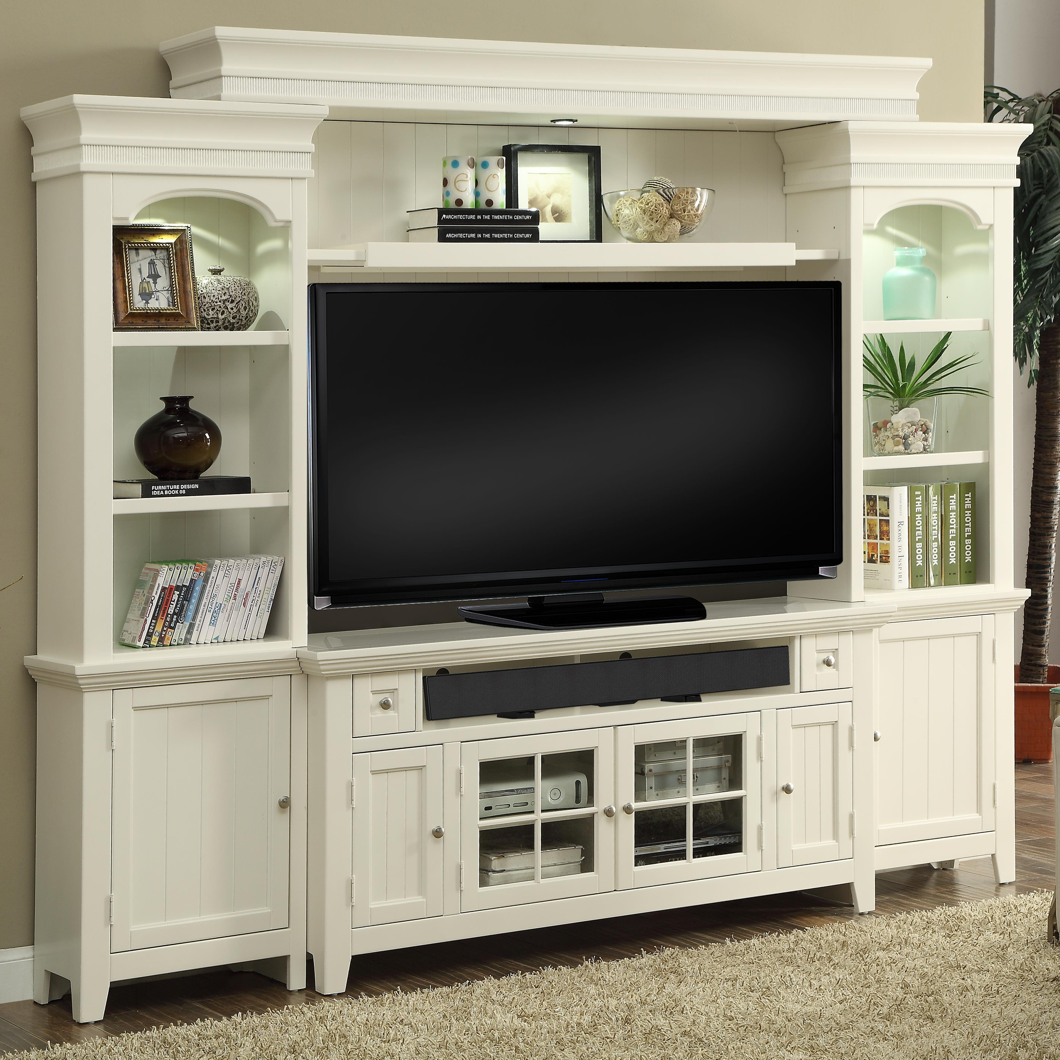 """Tidewater 62"""" Console Entertainment Wall by Parker House at Johnny Janosik"""