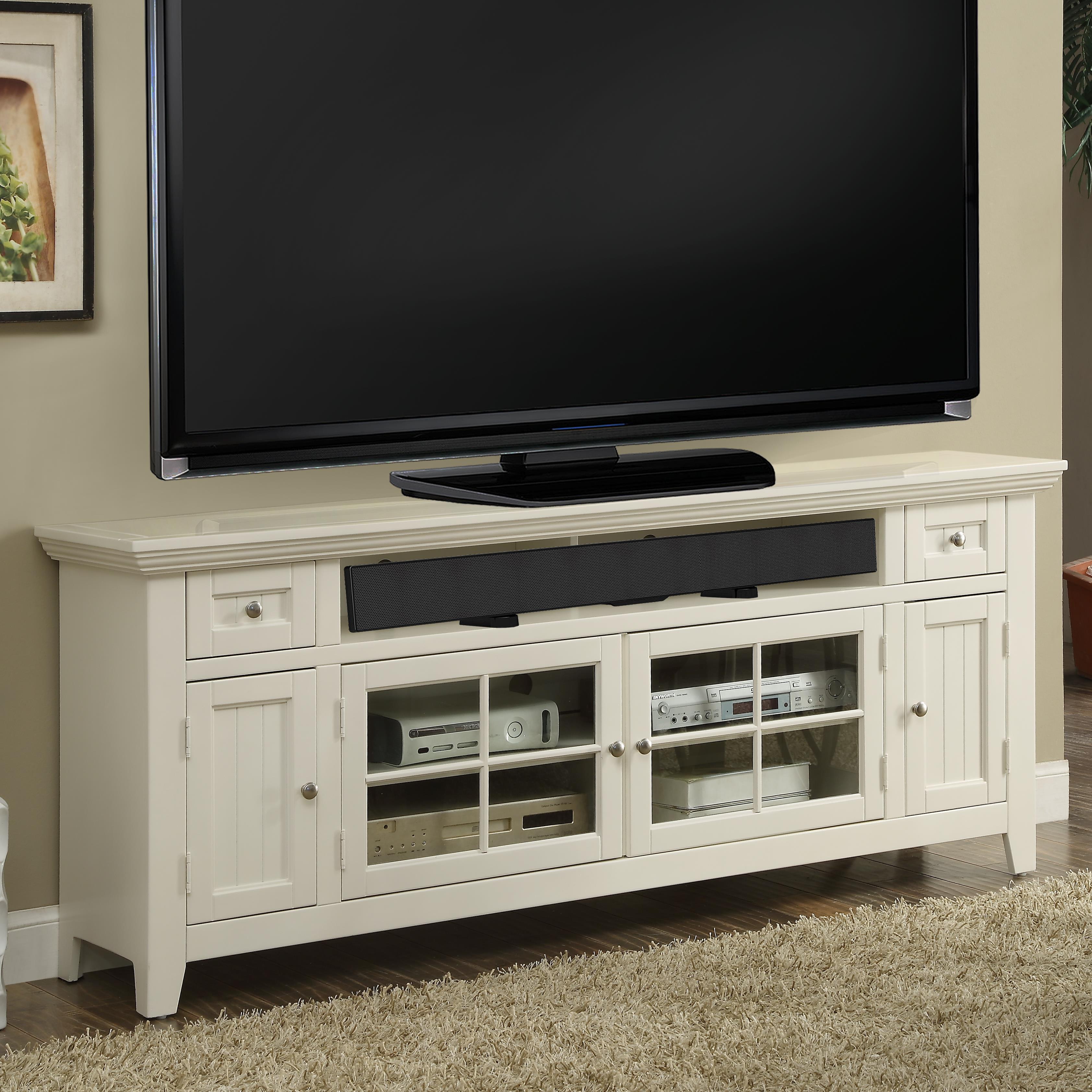 """Tidewater 72"""" TV Console by Parker House at Johnny Janosik"""