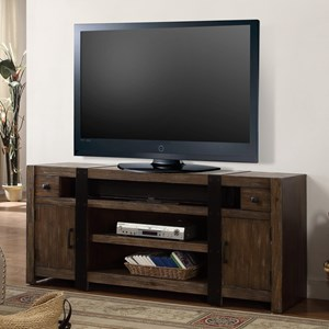 "63"" TV Console with Two Doors"