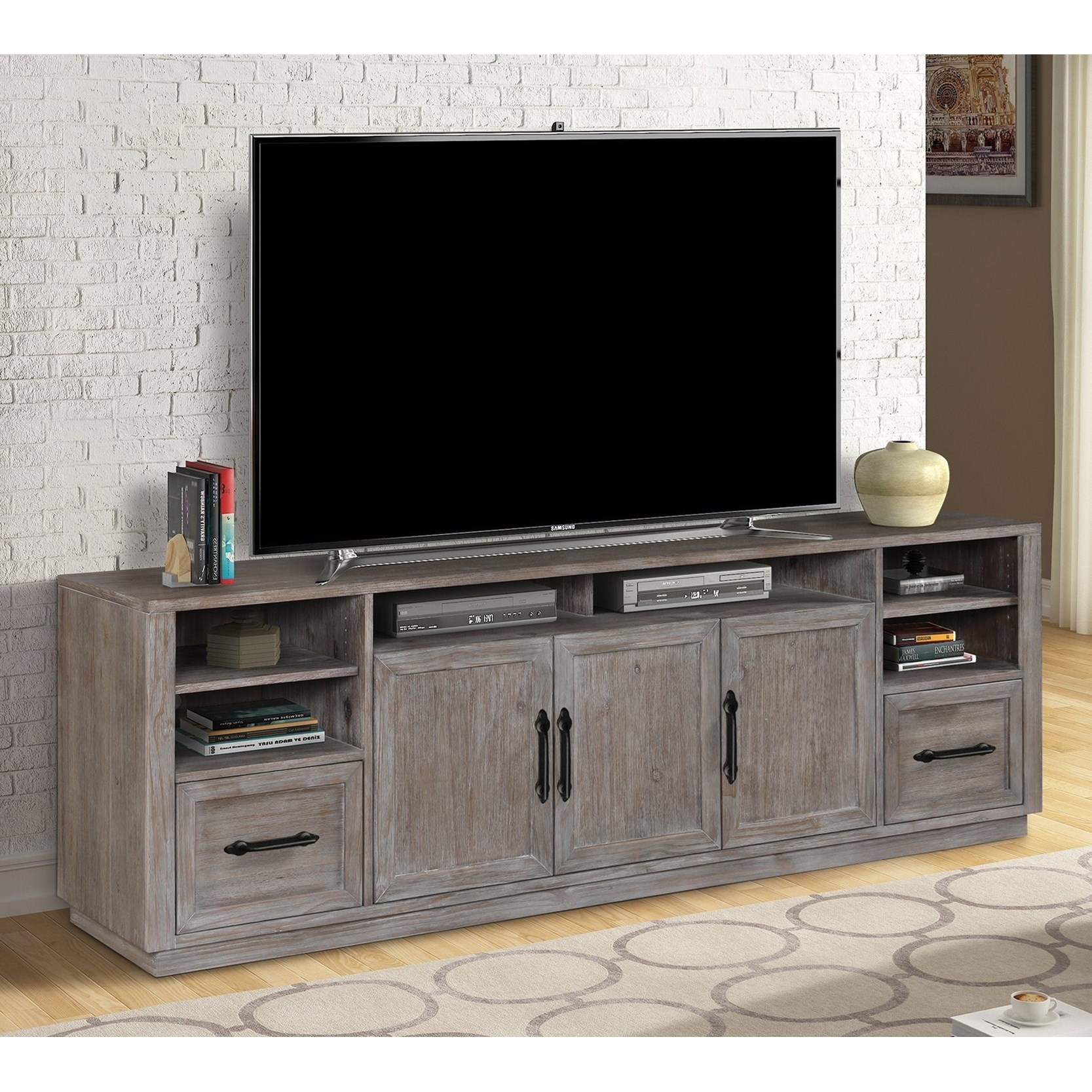 Vector TV Stand by Parker House at Zak's Home