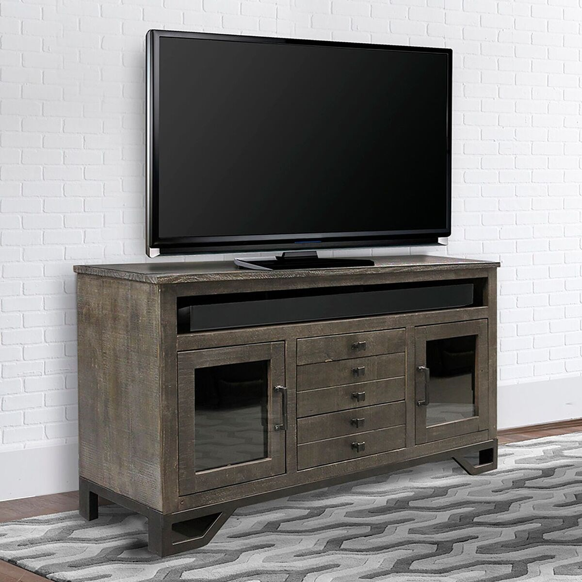 Veracruz 63 Inch TV Console by Parker House at Zak's Home