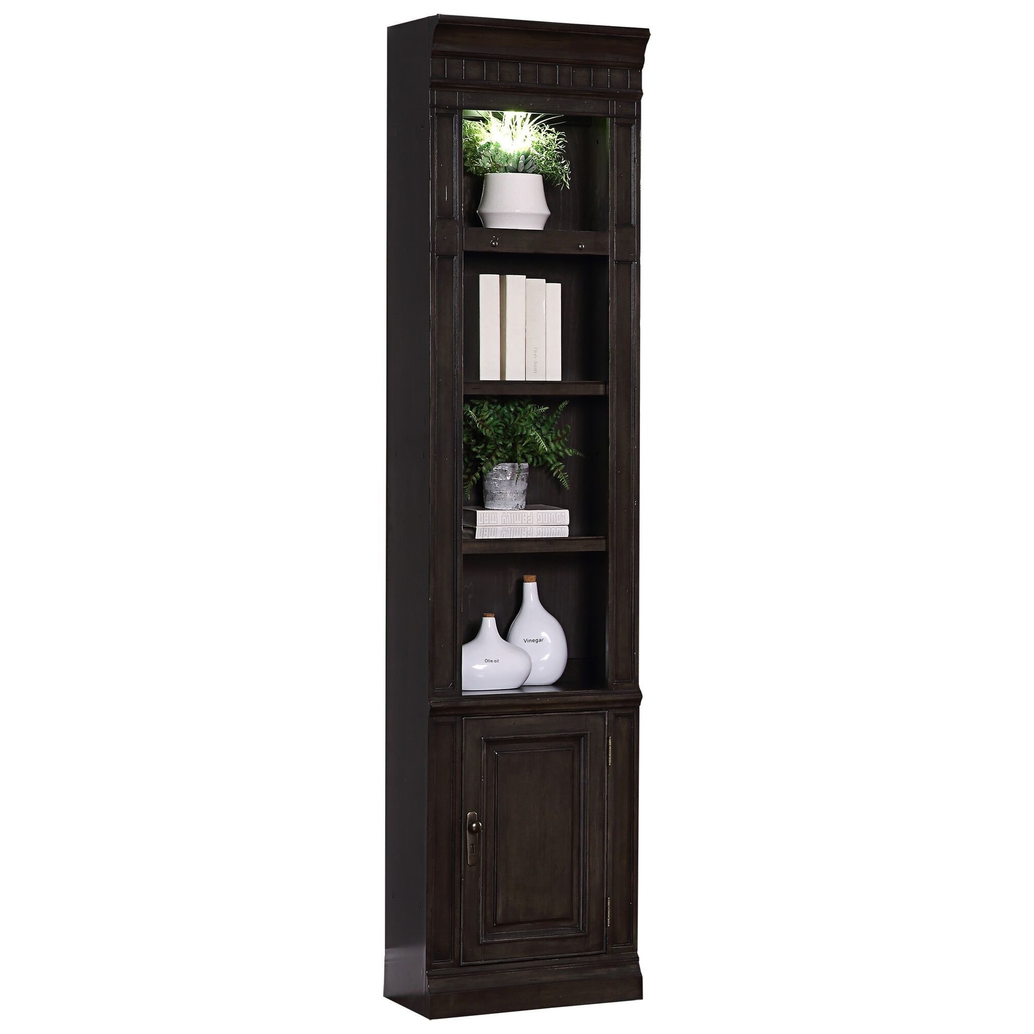 "Washington Heights 22"" Open Top Bookcase by Parker House at Wilcox Furniture"