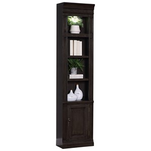 "Transitional 22"" Open Top Bookcase"