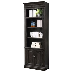 "Transitional 32"" Open Top Bookcase"