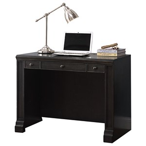 Transitional 3-Drawer Library Desk
