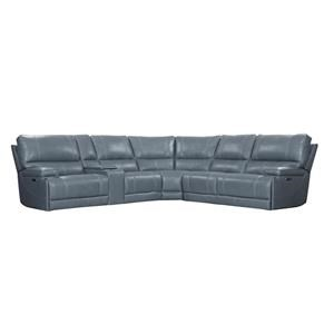 6 Piece Power Cordless Sectional
