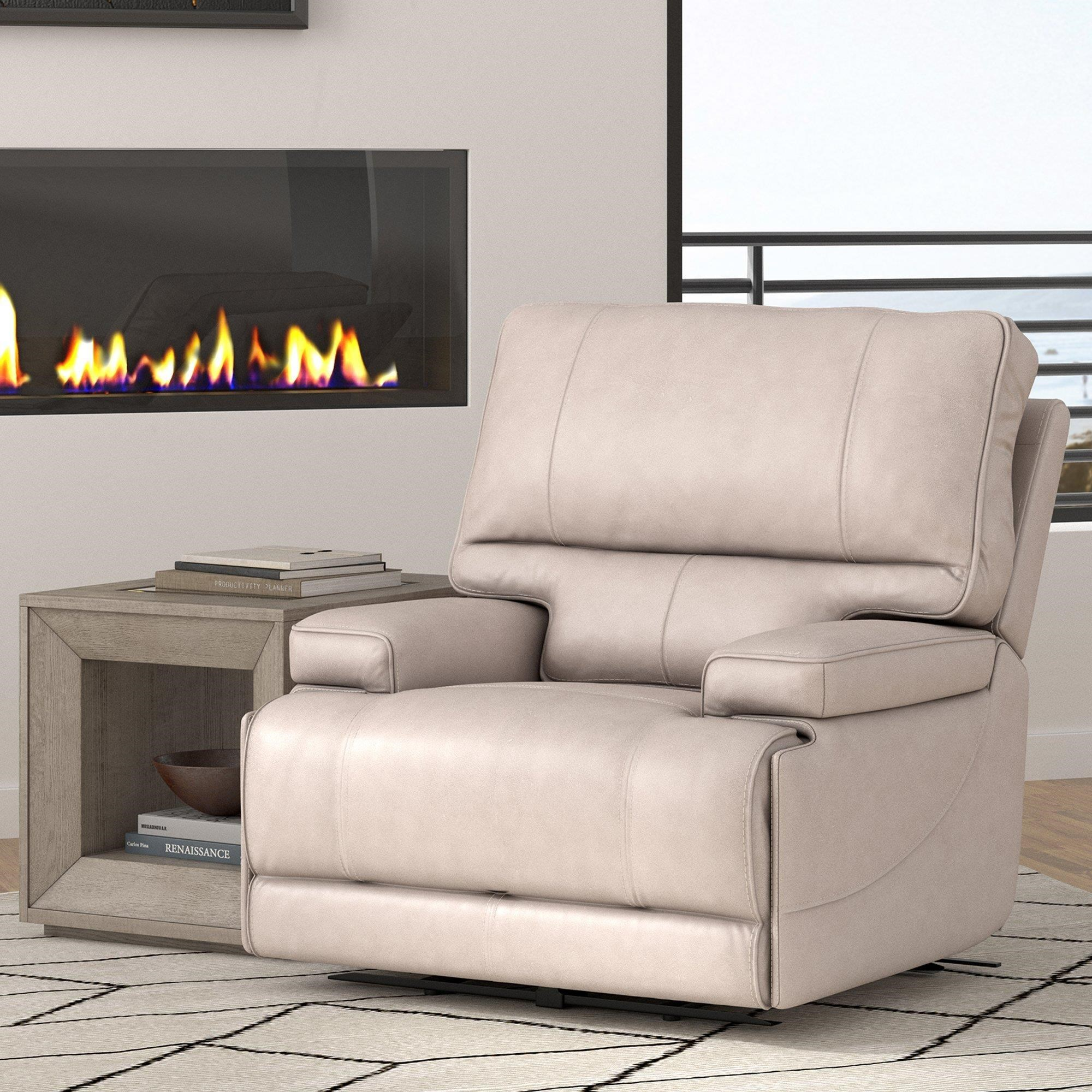 Whitman VERONA LINEN - Power Cordless Recliner by Parker House at Johnny Janosik