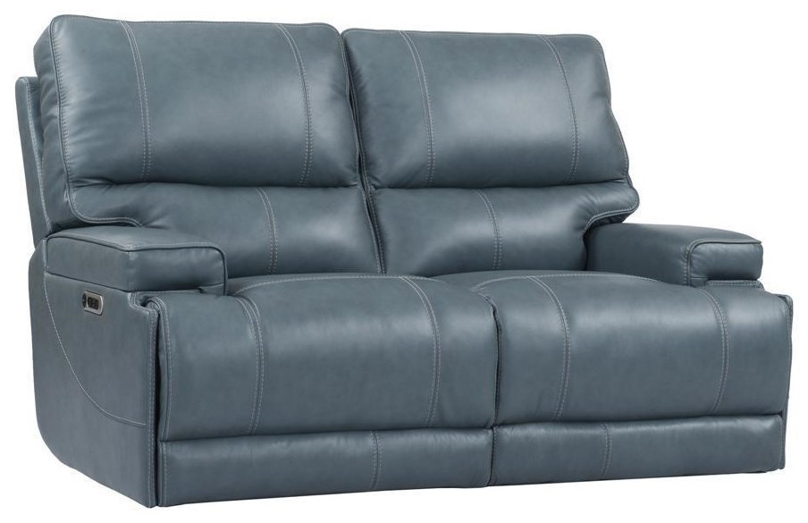 Whitman VERONA AZURE - Power Cordless Loveseat by Parker House at Johnny Janosik