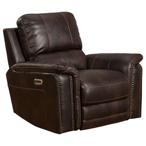 Power Recliner with Power Headrest and USB Port