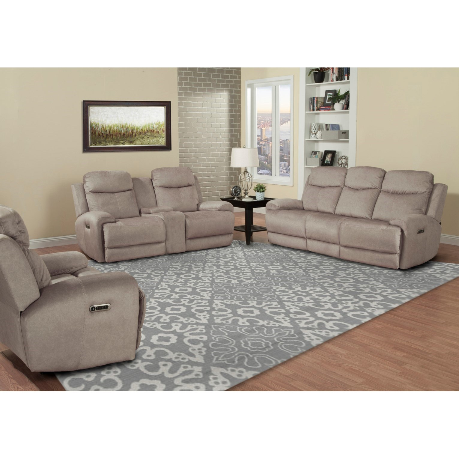 Bowie Reclining Living Room Group by Parker Living at Zak's Home