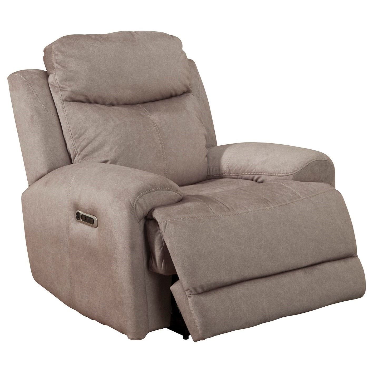 Bowie RECLINER PWR W/ USB, PWR HDR & GEL FOAM by Parker Living at Zak's Home