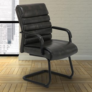 Guest Chair with Breuer Base