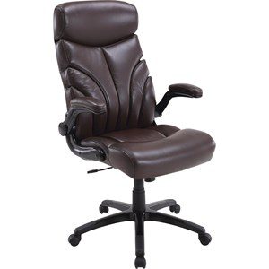 Contemporary Desk Chair with Lift Arms