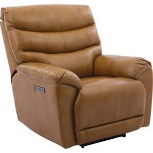 Power Recliner with Adjustable Headrest and Power Lumbar Support