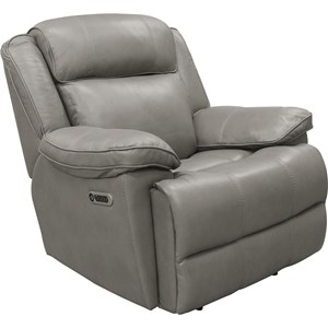 Power Recliner with Power Headrest and USB Ports