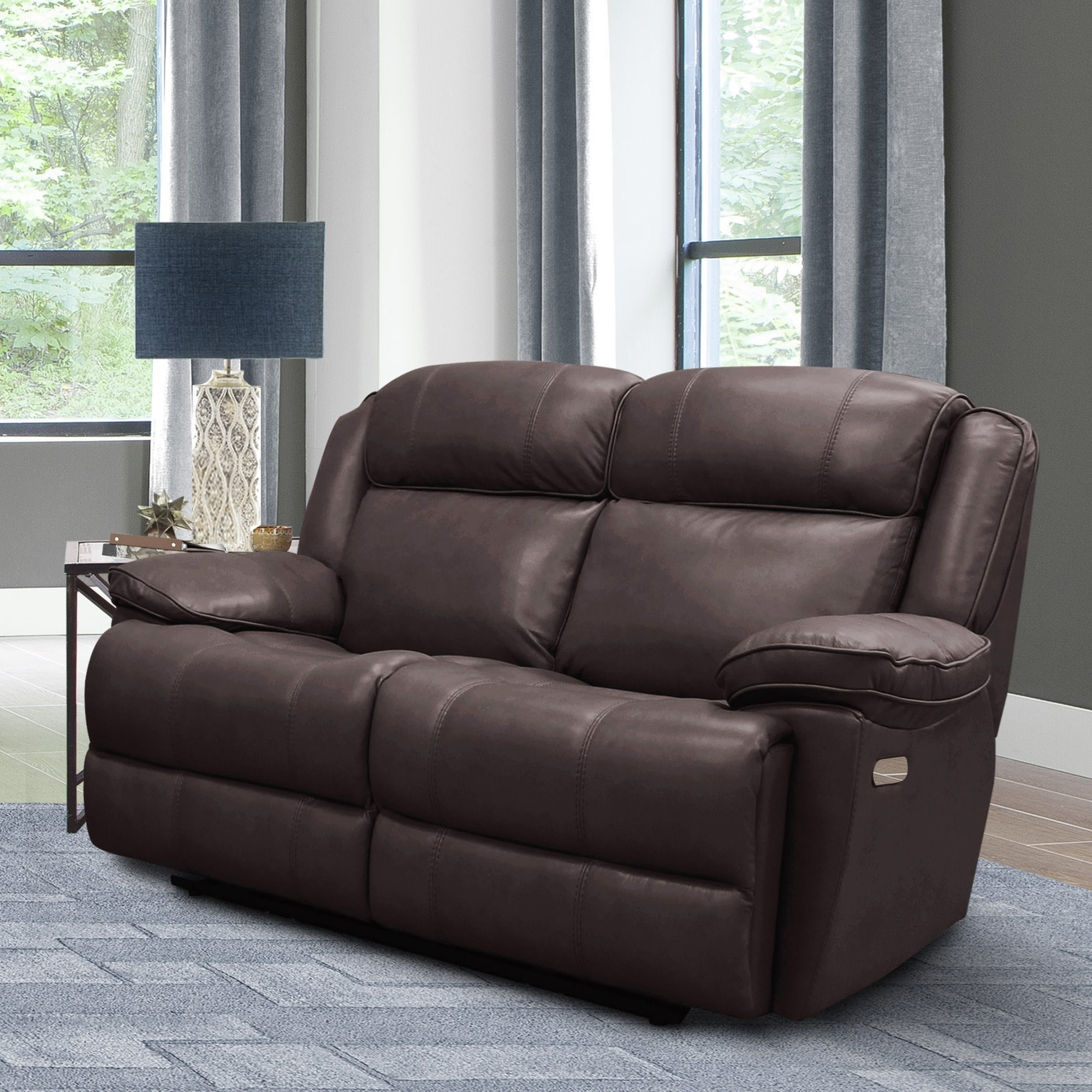 Eclipse Power Reclining Loveseat by Parker Living at Smart Buy Furniture