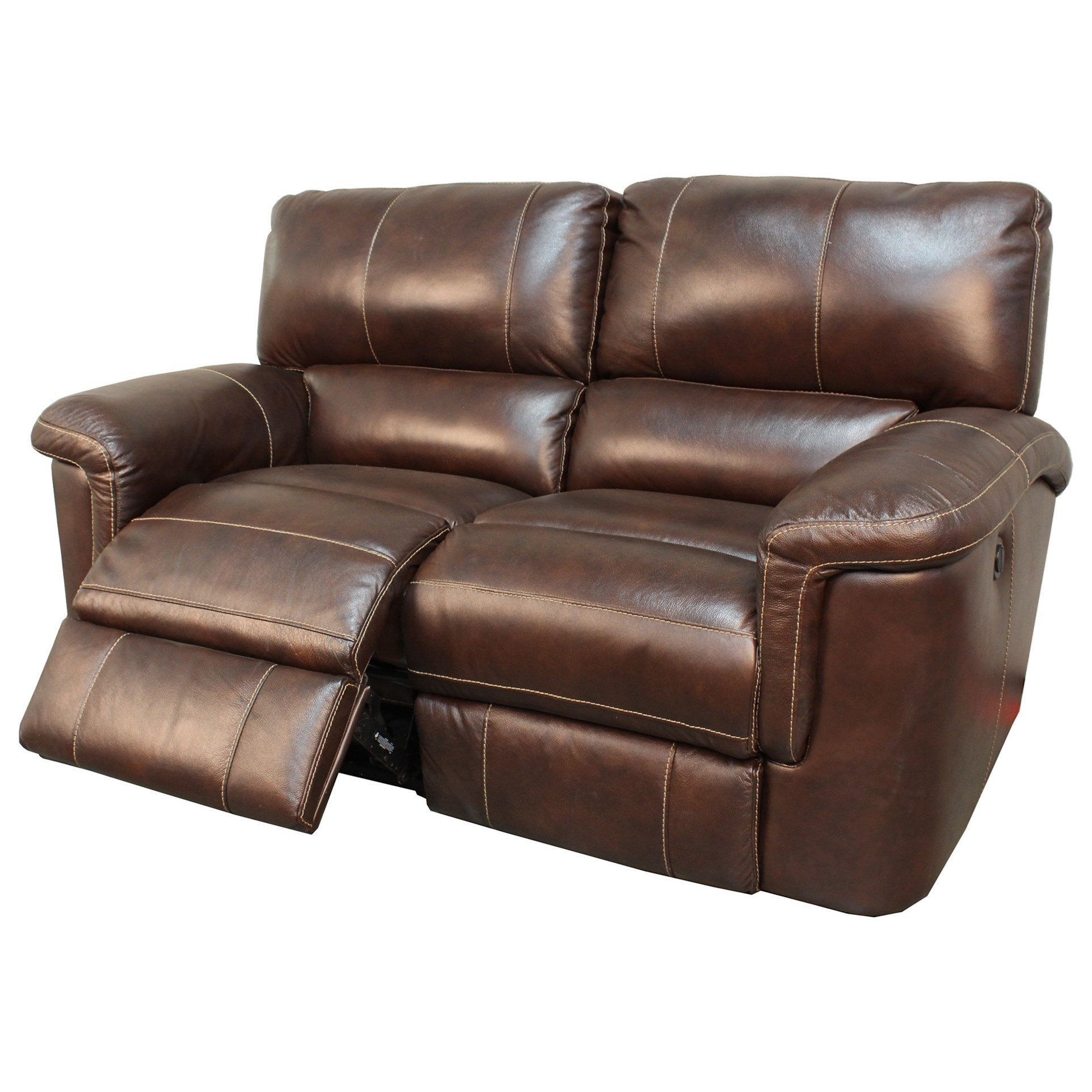 Hitchcock Casual Dual Reclining Power Loveseat by Parker Living at Zak's Home
