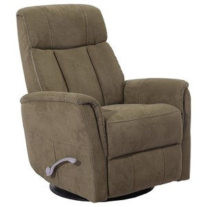 Glider Swivel Recliner w/ Articulating Headrest