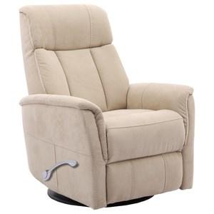 Glider Swivel Recliner w/ Articulating Headrest