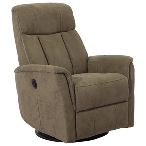 Anywhere Power Swivel Recliner with Cord-Free Battery Pack