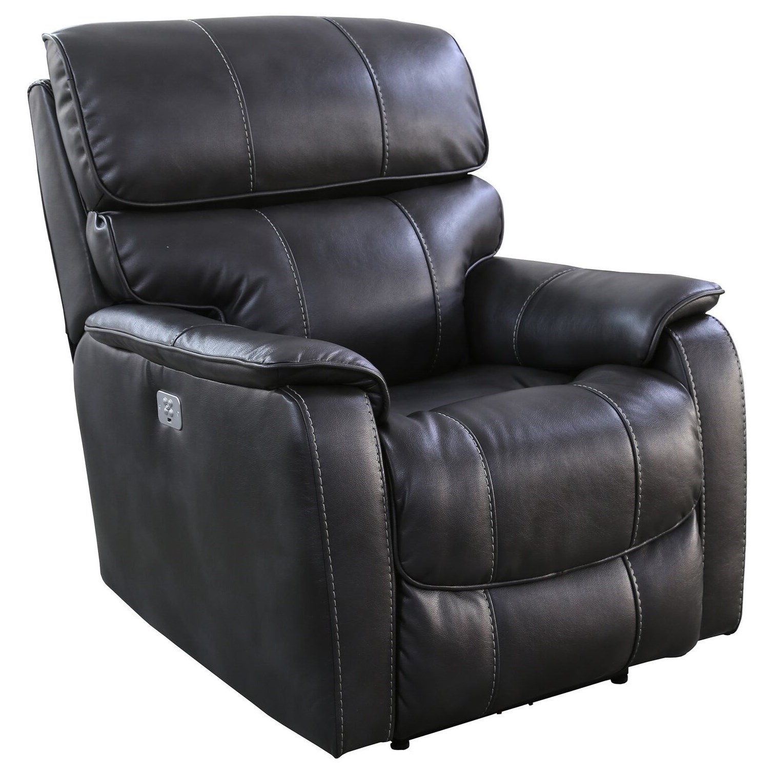 Julius Power Recliner with USB and Power Headrest by Parker Living at Zak's Home
