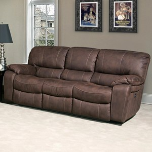 Casual Dual Reclining Sofa with Split Back