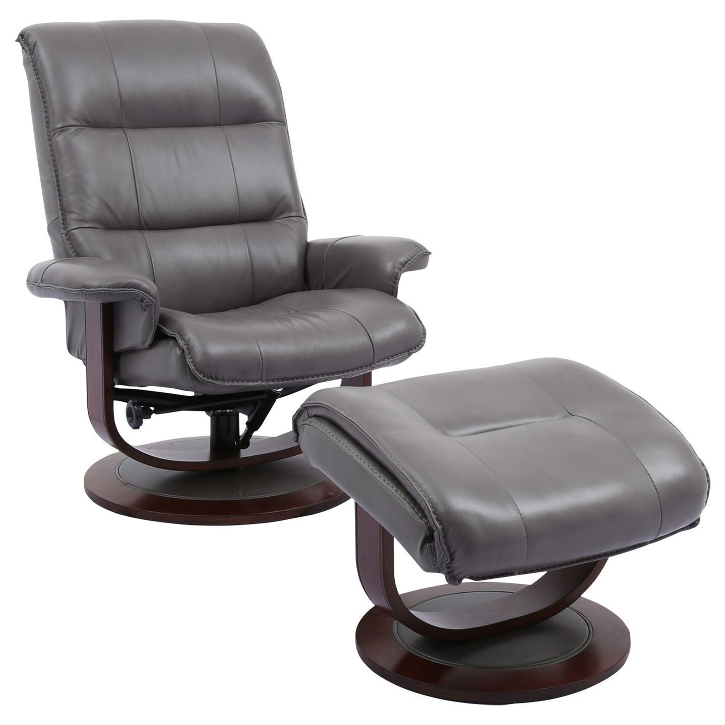 Knight Swivel Recliner & Ottoman by Parker Living at Zak's Home