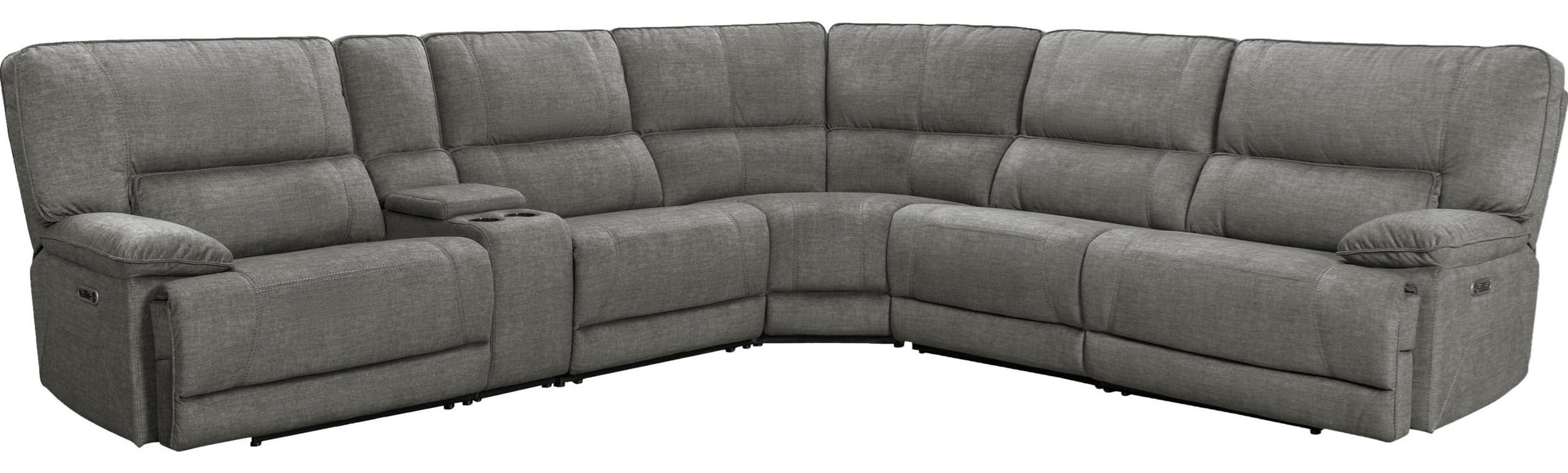 Marathon Power Reclining Sectional by PH at Del Sol Furniture