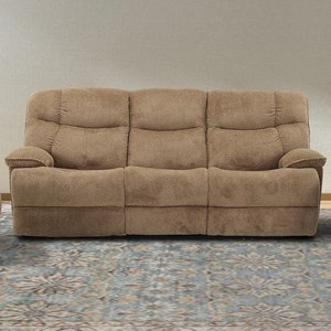 Power Reclining Sofa with Power Adjustable Headrests and USB Ports