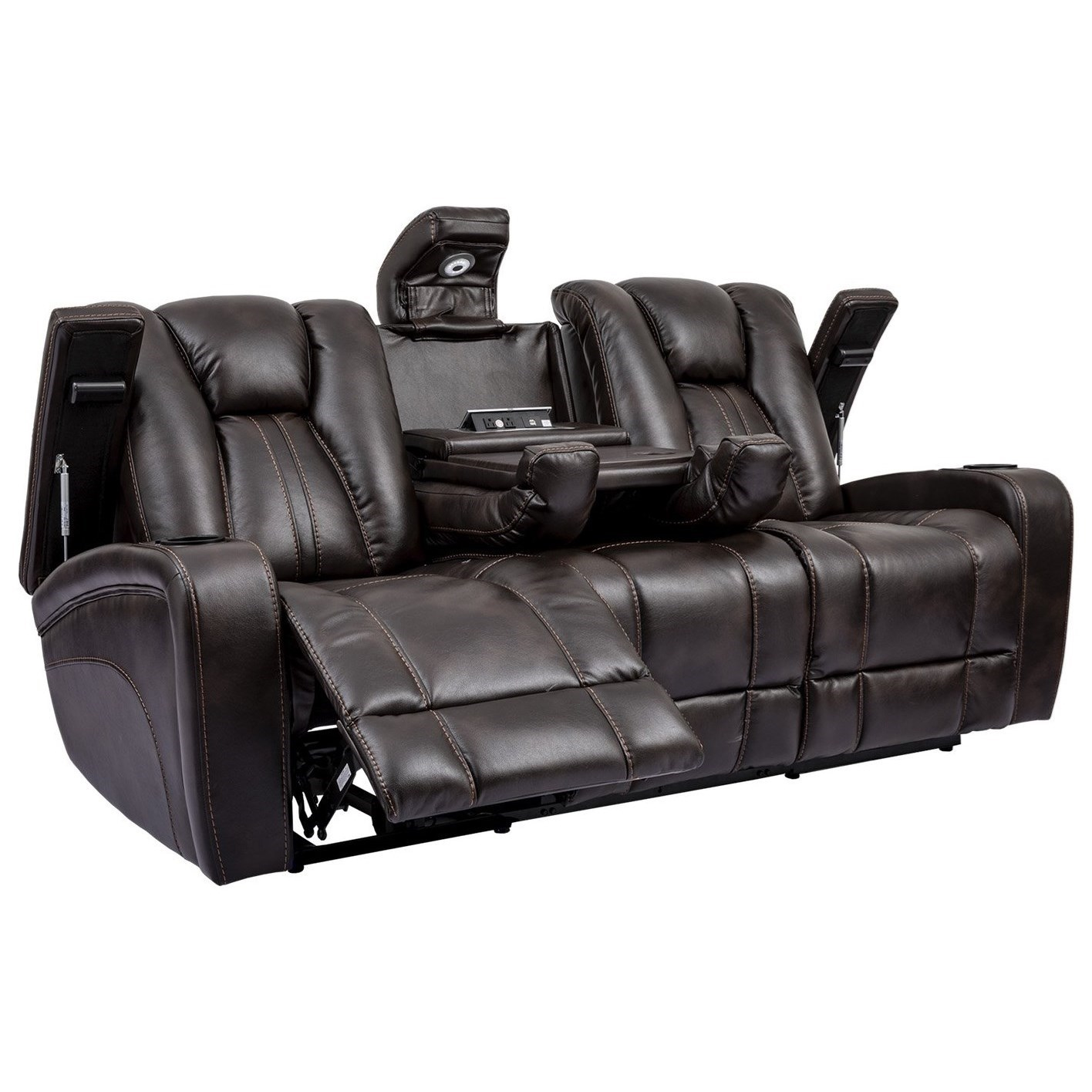 Optimus Power Reclining Sofa by Parker Living at Zak's Home