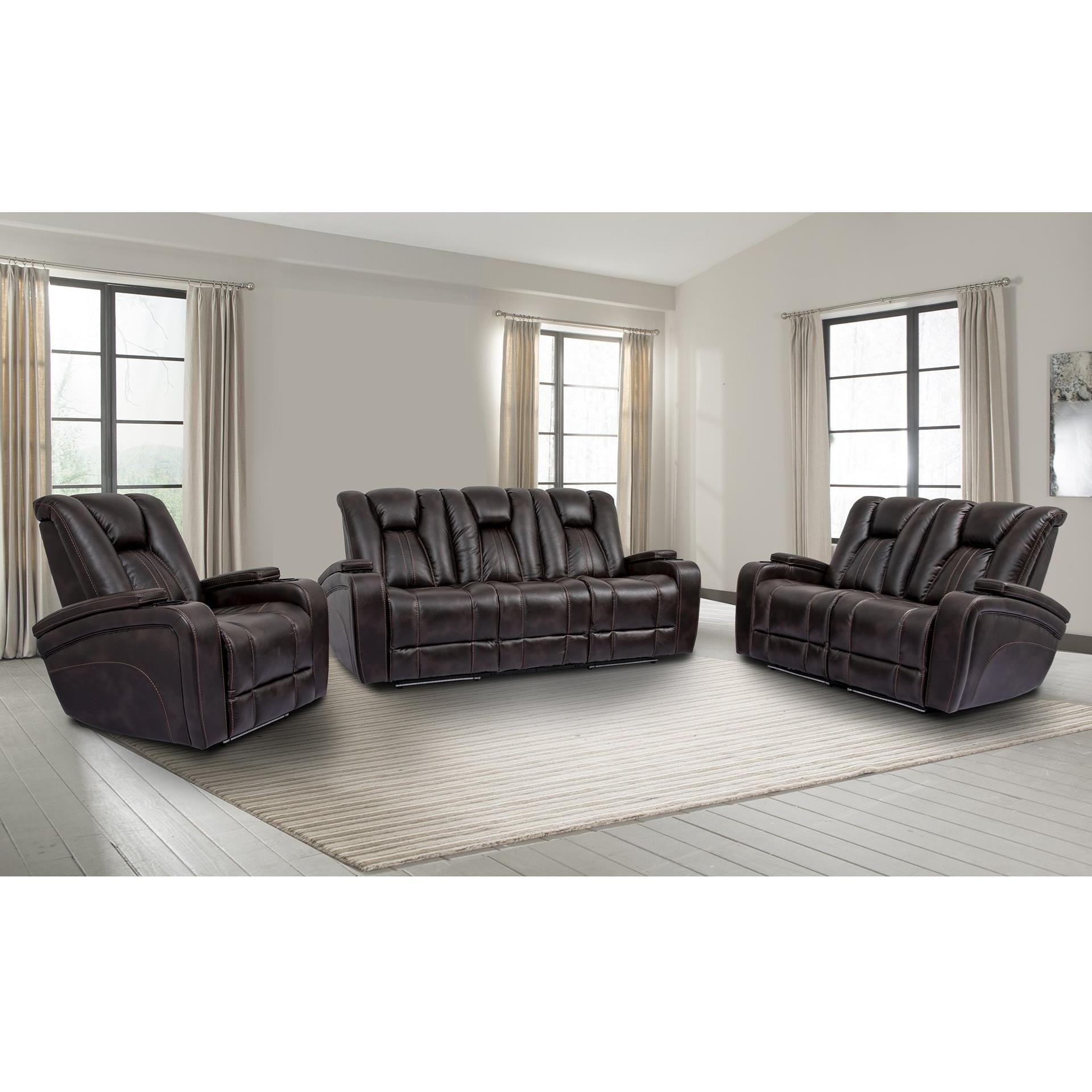 Optimus Power Reclining Living Room Group by Parker Living at Zak's Home