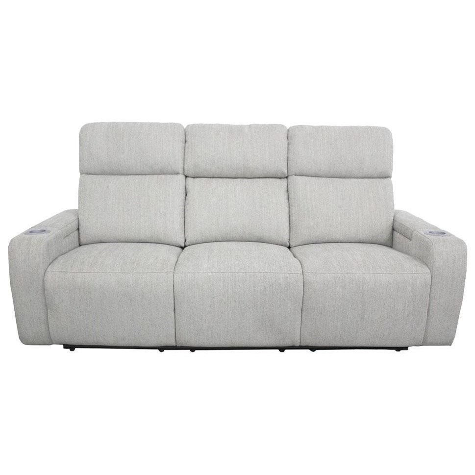 Orpheus Power Drop-Down Console Sofa by Parker Living at Belfort Furniture
