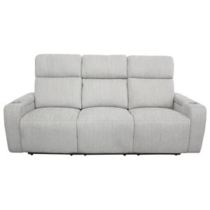 Power Drop-Down Console Sofa