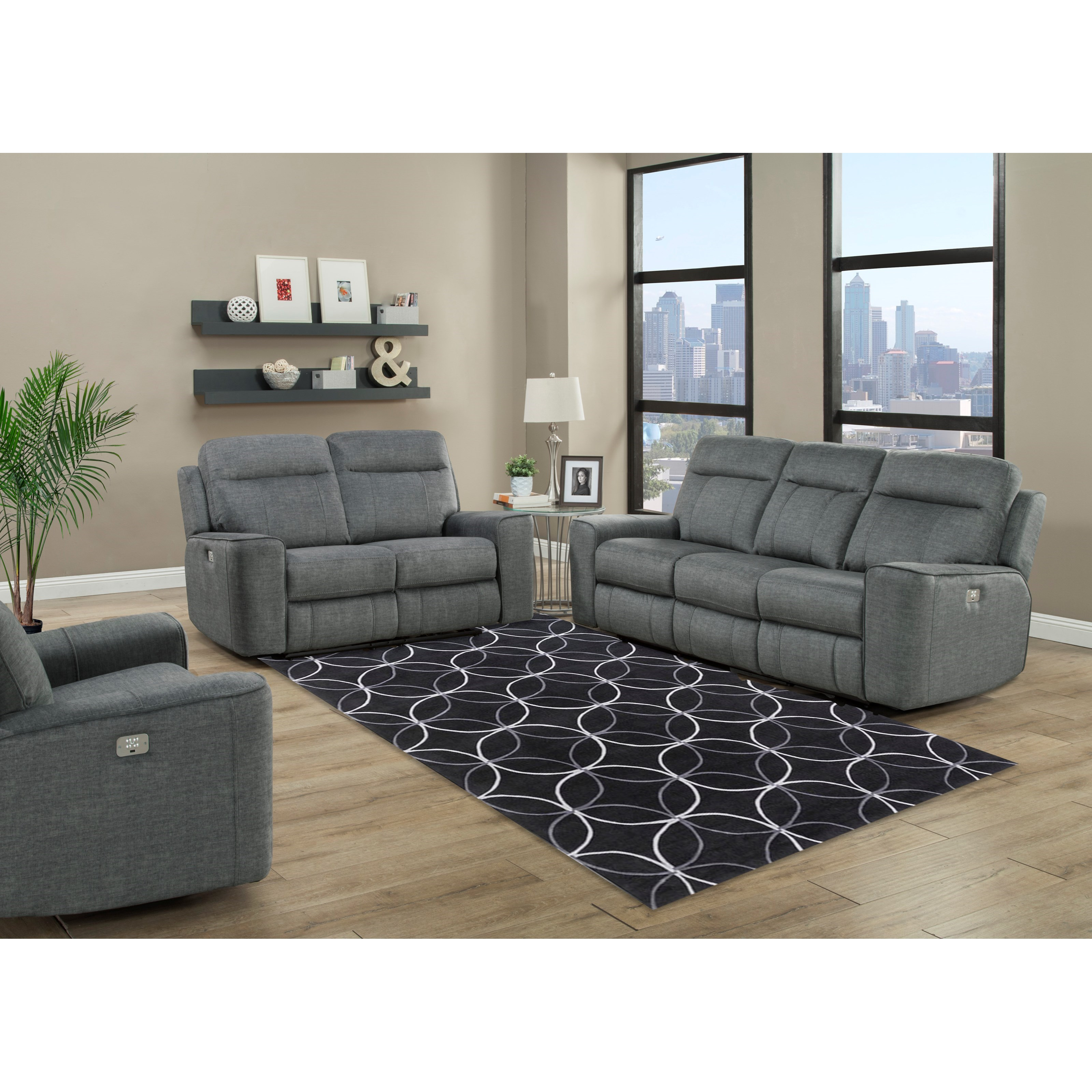 Parthenon Power Reclining Living Room Group by Parker Living at Zak's Home Outlet