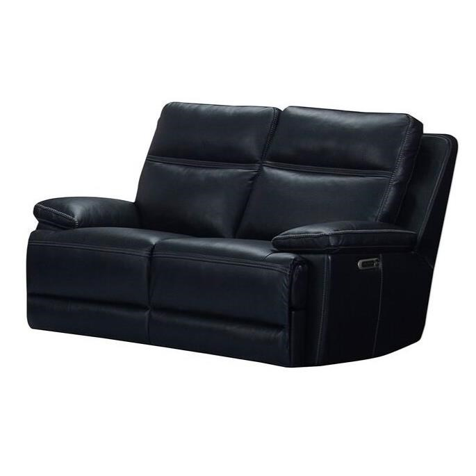 Paxton Power Reclining Loveseat with Power Headrest by Parker Living at Zak's Home