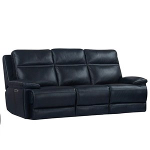 Dual Reclining Sofa with Power Headrest and USB Port