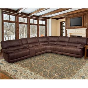 Parker Living Pegasus Power Reclining Sectional Sofa