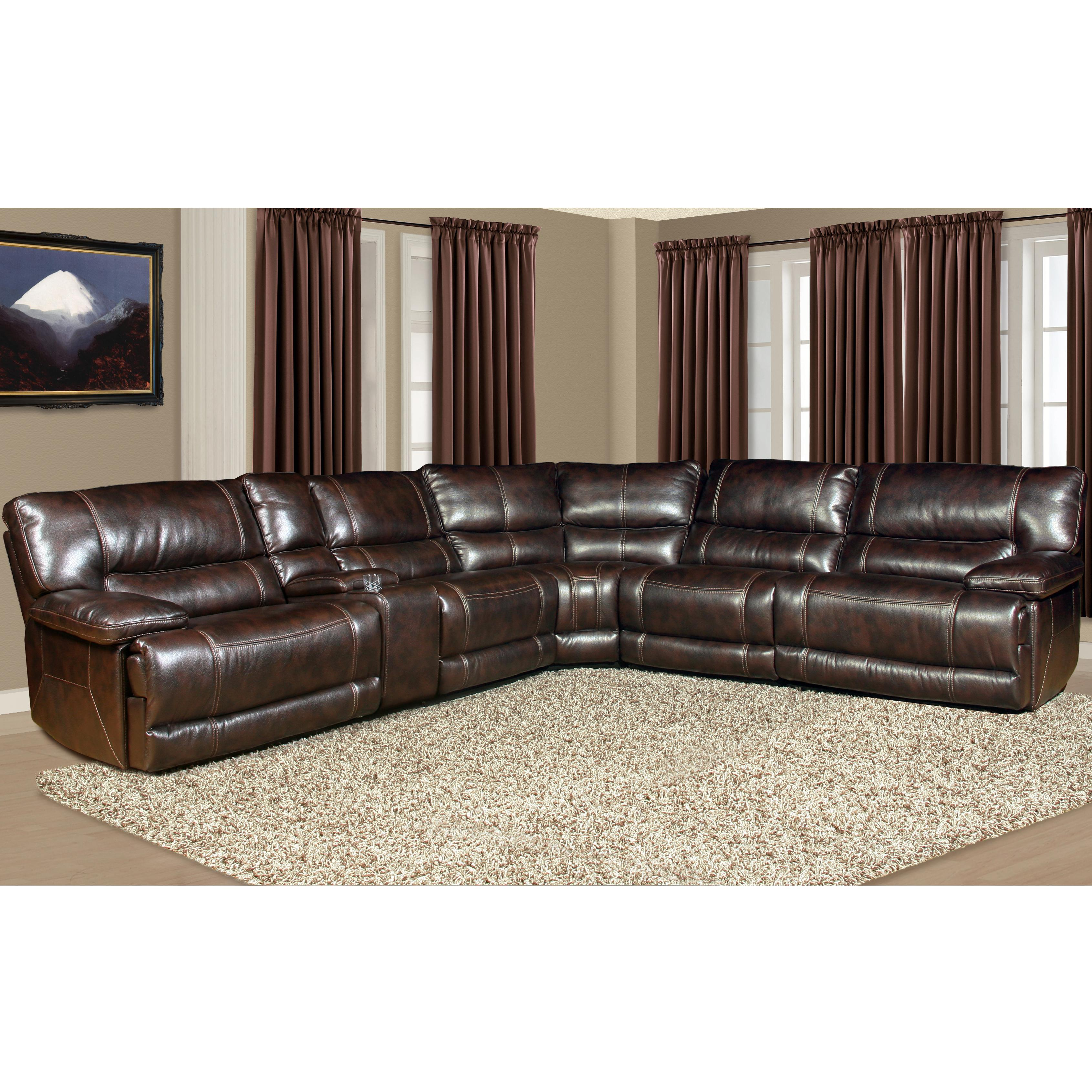 Pegasus Power Reclining Sectional Sofa by Parker Living at Zak's Home
