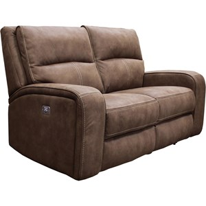 Dual Power Reclining Loveseat with Power Headrest and USB Charging Port