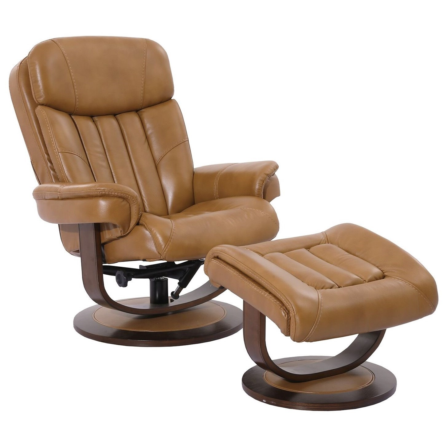 Prince Swivel Recliner & Ottoman by Parker Living at Zak's Home