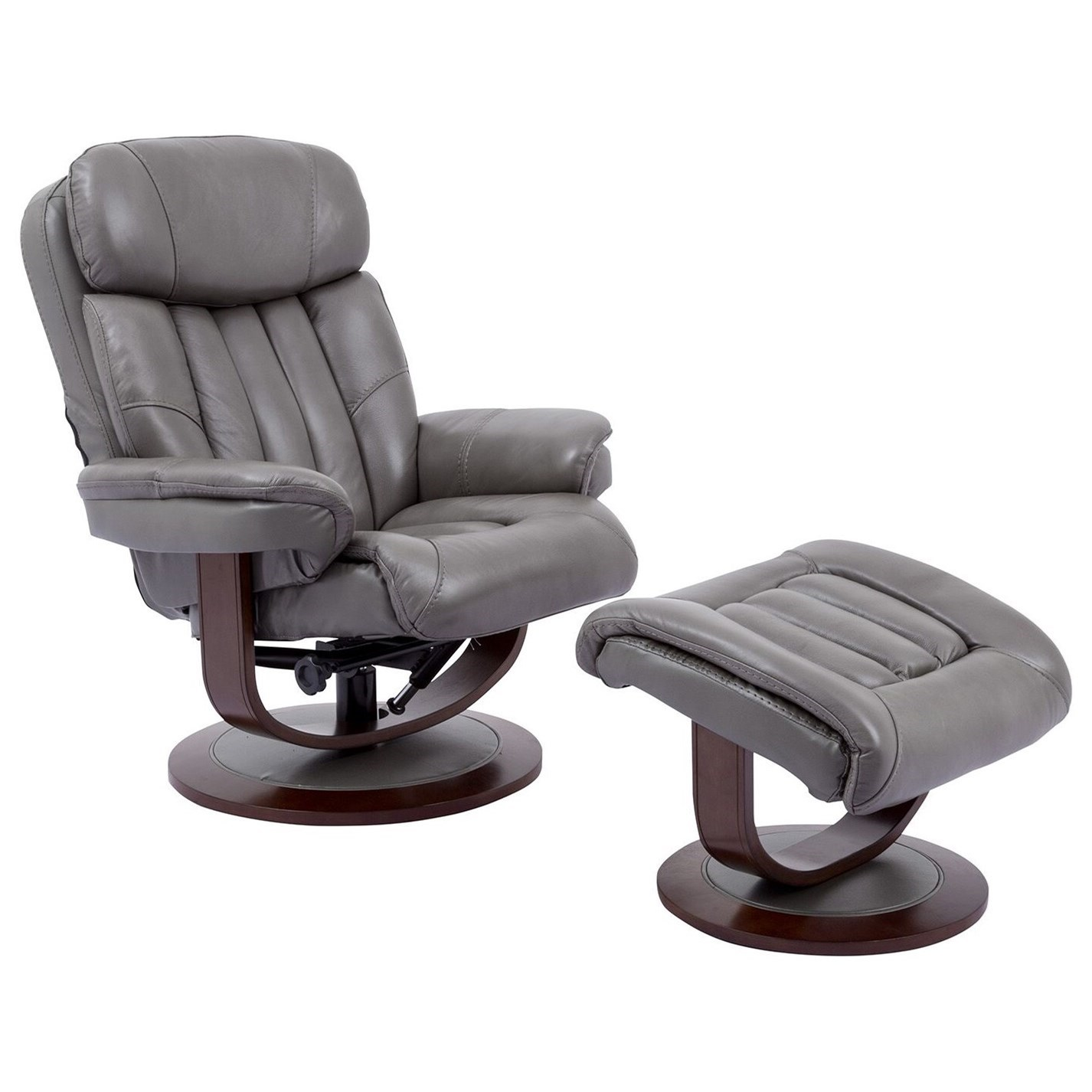 Prince Swivel Recliner & Ottoman by Parker Living at Lindy's Furniture Company