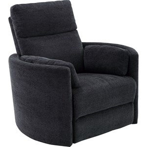Contemporary Glider Swivel Power Recliner