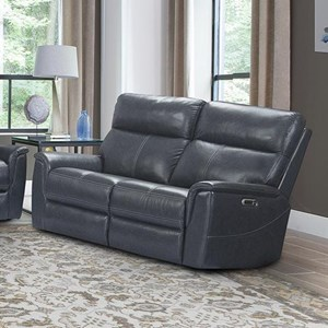Power Reclining Loveseat with Power Headrest and Lumbar