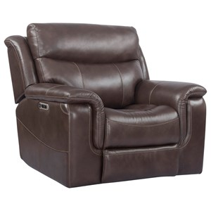 Power Recliner with USB and Adjustable Headrest